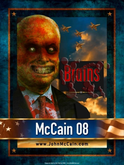 zombies for mccain